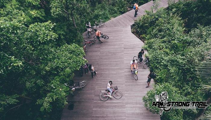 สถานที่ปั่นจักรยานใกล้กรุงเทพฯ