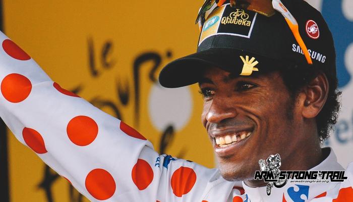 แดเนียล เทเคิลไฮมานอท นักปั่นจักรยานชาวแอฟริกัน