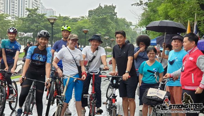 Yes We Can เริ่มที่คุณ กิจกรรมปั่นจักรยาน ช่วยลดฝุ่น PM 2.5