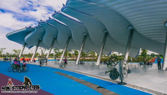 สนามปั่นจักรยานเจริญจิตมงคลสุข สำหรับนักปั่นจักรยาน ที่ต้องการปั่นจักรยานเพื่อออกกำลังกาย หรือปั่นจักรยานเพื่อสุขภาพร่างกายที่แข็งแรงแล้ว