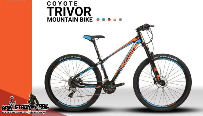 รีวิวจักรยานเสือภูเขาCoyote Trivor27สปีด ล้อ27.5เสือภูเขารุ่นประหยัด เราสามารถจะซื้อเสือภูเขาที่มีสเปคดังกล่าวในราคาไม่ถึง 1 หมื่นบาท