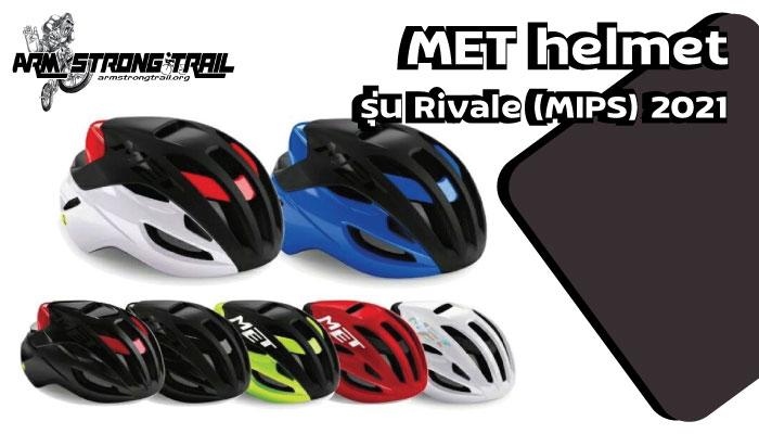 MET helmet รุ่น Rivale (MIPS) 2021