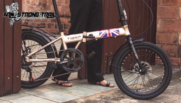 จักรยานพับ tiger 20 นิ้ว รุ่น OXFORD